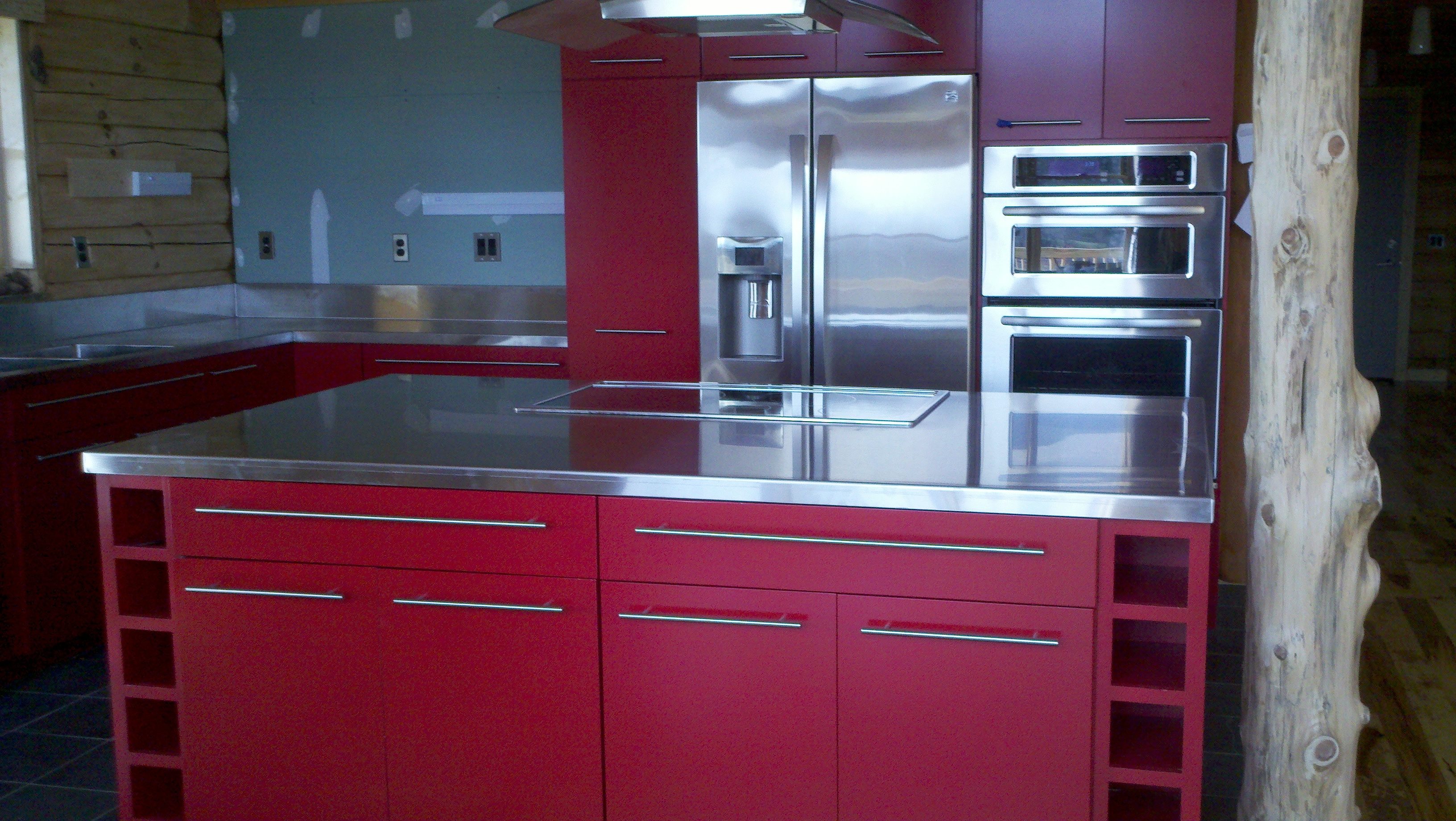 rend shape gloss with ideas vintage stylish kitchen cabinet from also licious rectangular crane finish modern islands countertop countertops wooden high floor island steel pictures stainless sx and zaveloff enchanting