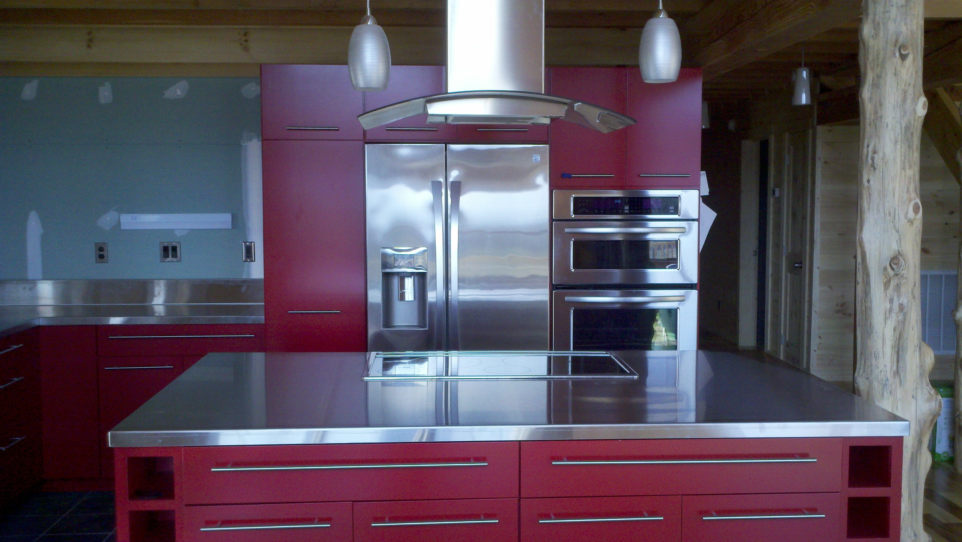 STAINLESS STEEL COUNTERTOPS |